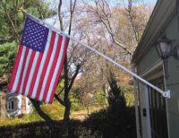 House Mounted Flagpoles